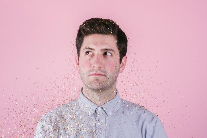 photo glitter men