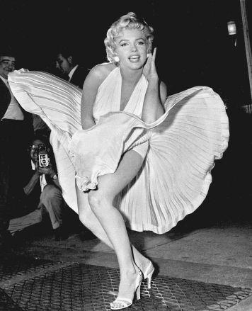scène emblématique de Marilyn Monroe