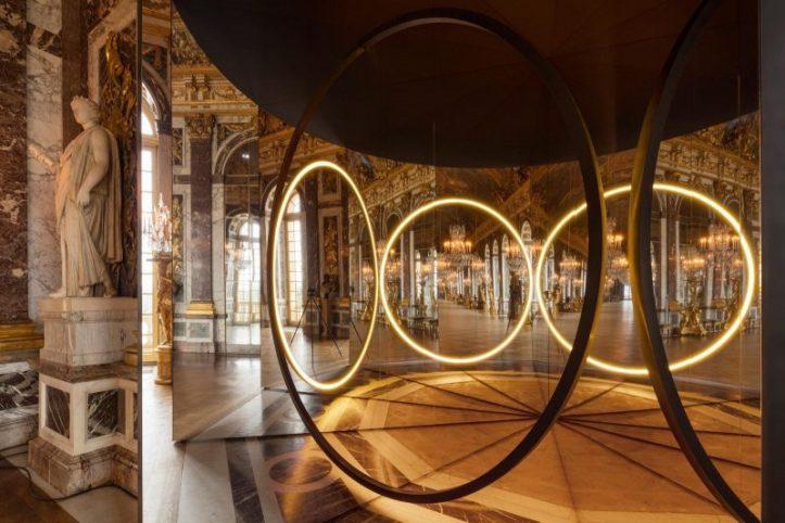 installation your sense of unity au château de versailles, 2016. conception et réalisation Ólafur elíasson. ©anders sune berg