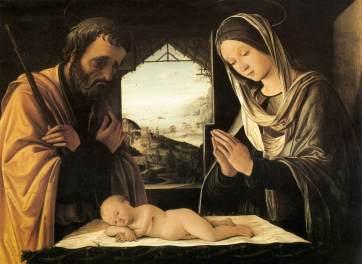 Lorenzo Costa - la sainte famille