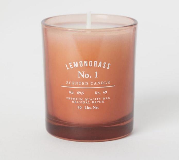 bougie parfumée hm