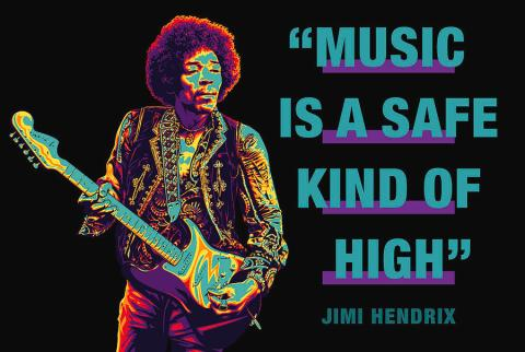 jimi-hendrix-quote-music-is-a-safe-kind-of-high-david-richardson