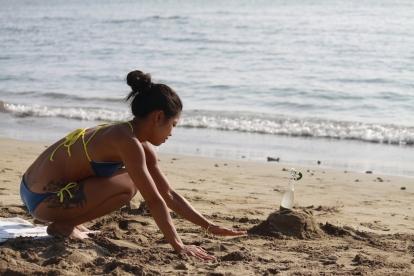 jouer avec sable ne pas grandir its a trick
